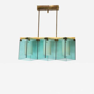 Max Ingrand Chandelier 2128 by Max Ingrand for Fontana Arte