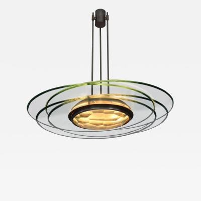 Max Ingrand Chandelier Model 2127 by Max Ingrand for Fontana Arte