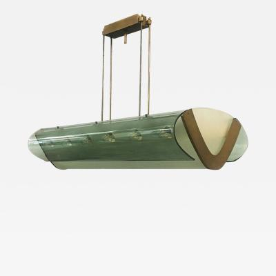 Max Ingrand Chandelier by Max Ingrand for Fontana Arte 1940s