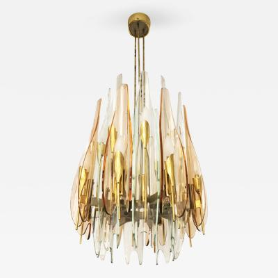 Max Ingrand Dahlia Chandelier by Max Ingrand for Fontana Arte 1954
