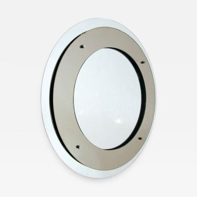 Max Ingrand Double circle mirror by Fontana Arte