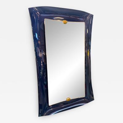 Max Ingrand Fontana Arte Blu Mirror Italy 1950s