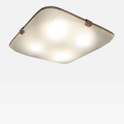Max Ingrand Fontana Arte Ceiling Light Model 1486 by Max Ingrand