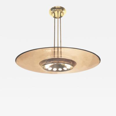 Max Ingrand Fontana Arte Ceiling Light Model 1508 by Max Ingrand