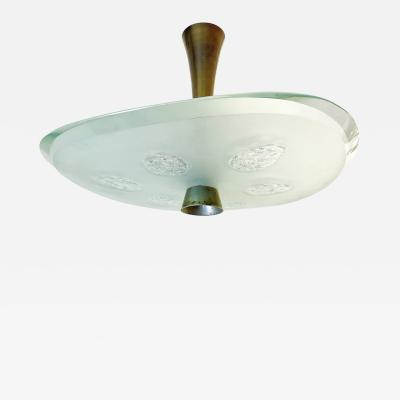 Max Ingrand Fontana Arte Ceiling Light Model 1748 by Max Ingrand