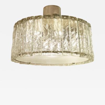 Max Ingrand Fontana Arte Ceiling Light Model 2448 by Max Ingrand