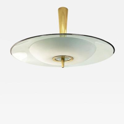 Max Ingrand Fontana Arte Chandelier Model 1462A by Max Ingrand