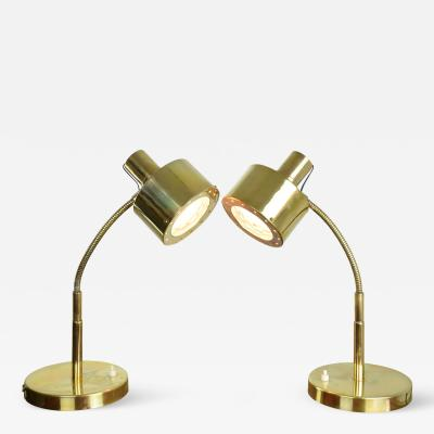 Max Ingrand Italian Mid Century Table Lamps in the Manner of Max Ingrand 1960s