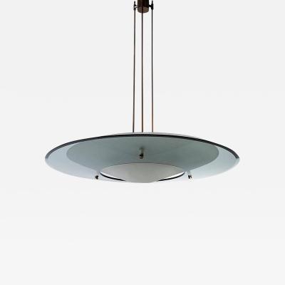 Max Ingrand Large Max Ingrand Minimalist Light Fixture by Fontana Arte