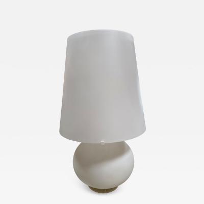 Max Ingrand Max Ingrand Glass Table Lamp for Fontana Arte Italy 1960s
