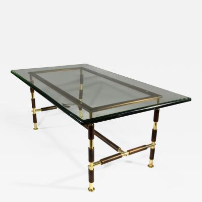Max Ingrand Mid Century Italian Coffee Table by Max Ingrand for Fontana Arte 1955