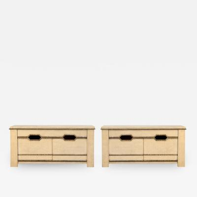 Max Ingrand Pair of Double Door Chests