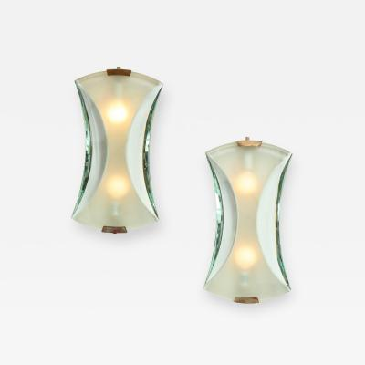 Max Ingrand Pair of Sconces Model 2225