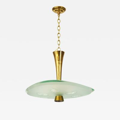 Max Ingrand Pendant 1748 by Max Ingrand for Fontana Arte
