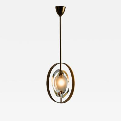 Max Ingrand Pendant Chandelier Model 1933 by Max Ingrand for Fontana Arte