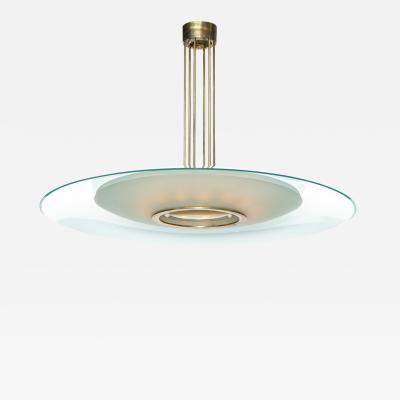 Max Ingrand Rare 1498 Hanging Light by Max Ingrand for Fontana Arte