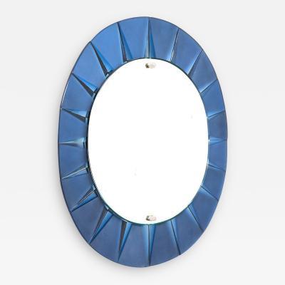 Max Ingrand Rare Circular Mirror by Max Ingrand for Fontana Arte