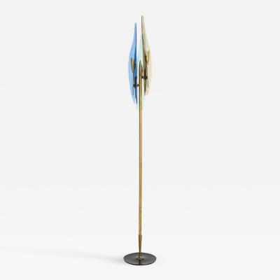 Max Ingrand Rare Dahlia Floor Lamp by Max Ingrand for Fontana Arte