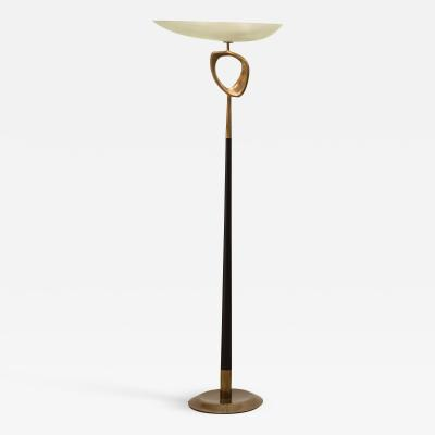 Max Ingrand Rare Floor Lamp by Max Ingrand for Fontana Arte