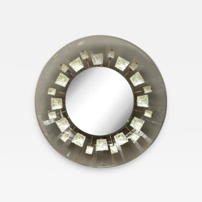 Max Ingrand Rare Illuminated Mirror by Max Ingrand