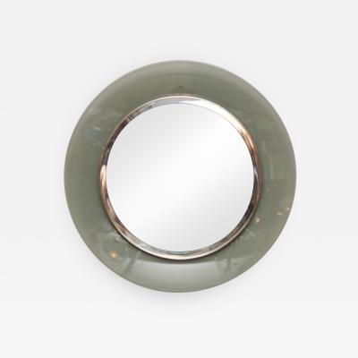 Max Ingrand Round mirror by Max Ingrand for Fontana Arte model 1669 Italy 1960