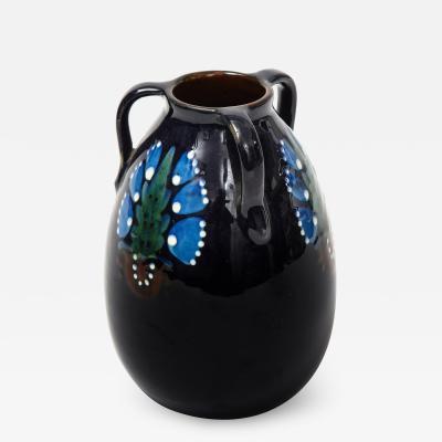 Max Laeuger Max Laeuger Handled Ceramic Vase