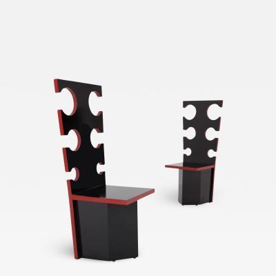 Max Papiri Max Papiri Designer Chairs for Mario Sabot 1970s