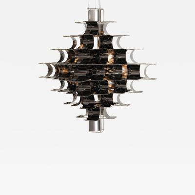 Max Sauze Black Cassiope Lighting by Max and Sebastien Sauze
