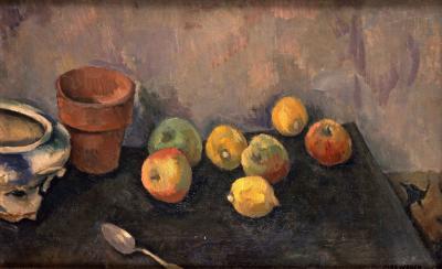 Max Weber Apples and Lemons 1911