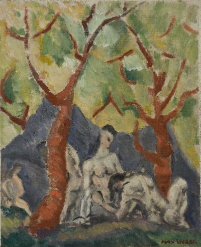 Max Weber Group of Nudes 1911