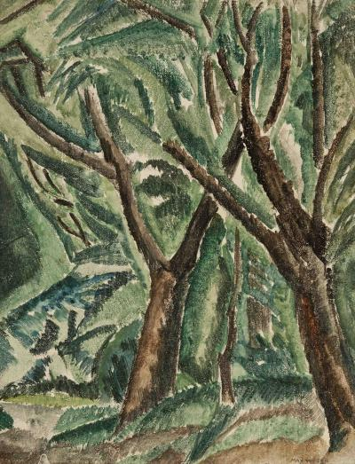 Max Weber Trees ca 1911
