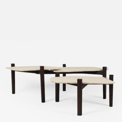 Maxime Bellaunay Set of Sculpted Tables Taiwa Maxime Bellaunay