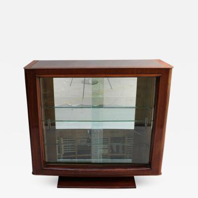 Maxime Old A FINE FRENCH ART DECO ROSEWOOD VITRINE BAR BY MAXIME OLD