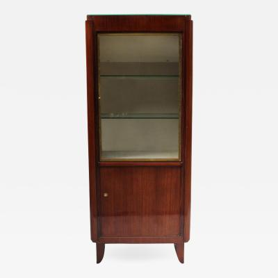 Maxime Old A FINE FRENCH ART DECO ROSEWOOD VITRINE BY MAXIME OLD