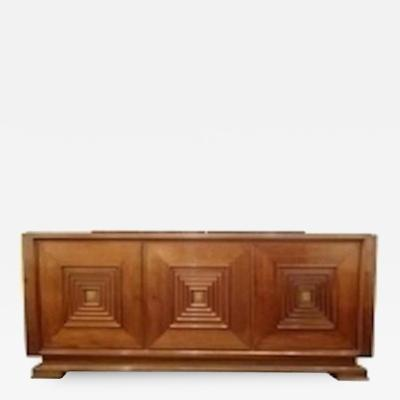 Maxime Old A Mid Century Sideboard in Hand Waxed Palisander and Bronze
