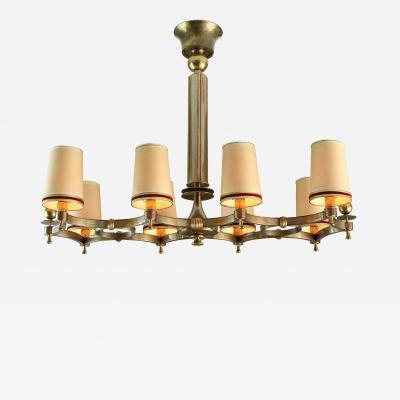 Maxime Old Maxime Old Exceptional Chandelier France 1946