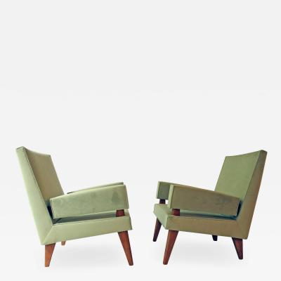 Maxime Old Maxime Old Pair of armchairs 369 model France 1955 1958
