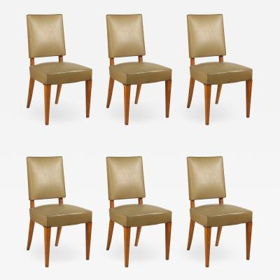 Maxime Old Maxime Old Set of Six Dining Chairs in Ash