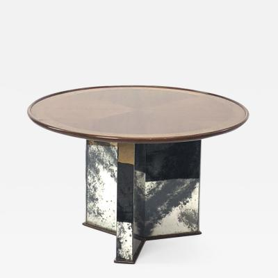 Maxime Old Maxime old mirrored base round coffee table