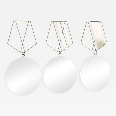 Medallion Brass Mirrors Rooms