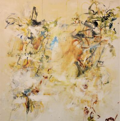 Meditation V Painting by Gisela Miller