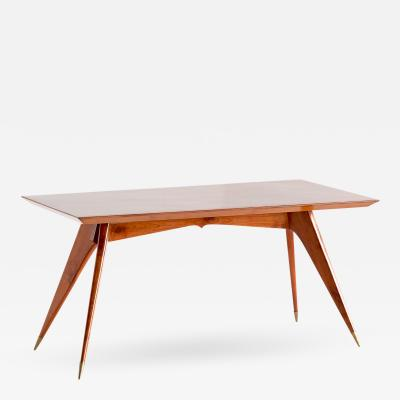 Melchiorre Bega Melchiorre Bega Dining Table in Walnut Italy 1950s