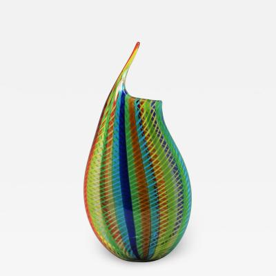 Melody of Spring 1 1 Murano Vase by Celotto