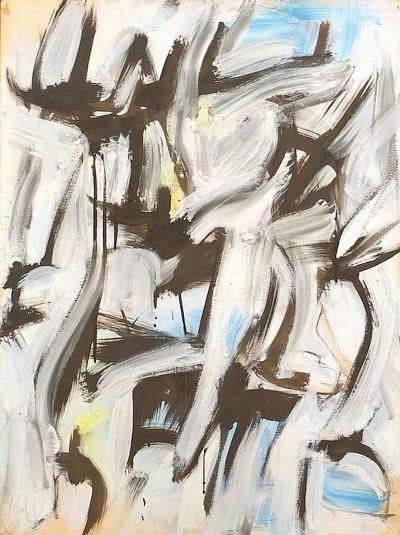 Melville Price Untitled Abstraction