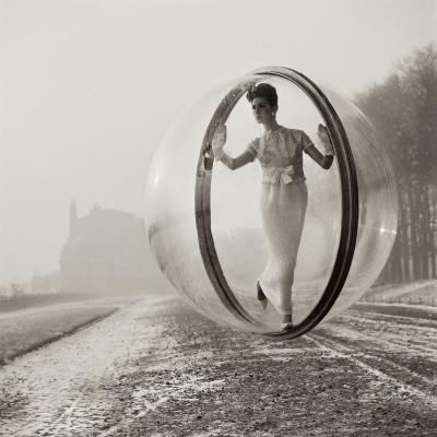 Melvin Sokolsky After Delvaux Paris 1963 printed later