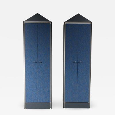 Memphis Style Wardrobe Cabinets Italy 1980