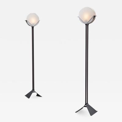 Menno Dieperink Pair of Limited Edition Menno Dieperink Floor Lamps The Netherlands 1983