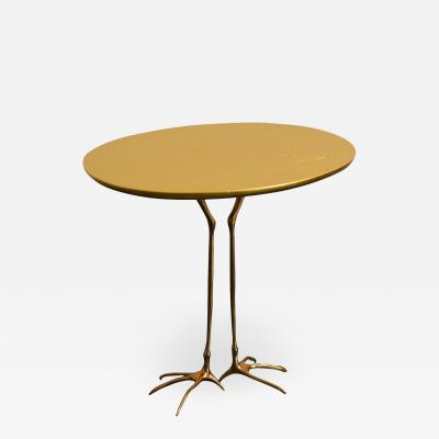 Meret Oppenheim Traccia table designed by Meret Oppenheim for Cassina