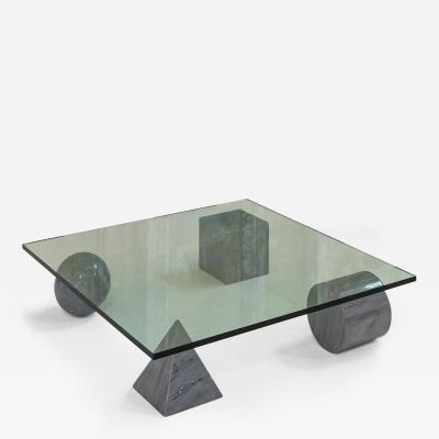 Metafora Coffee Table by Massimo and Lella Vignelli