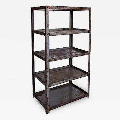 Metal Shelves from a Textile Factory